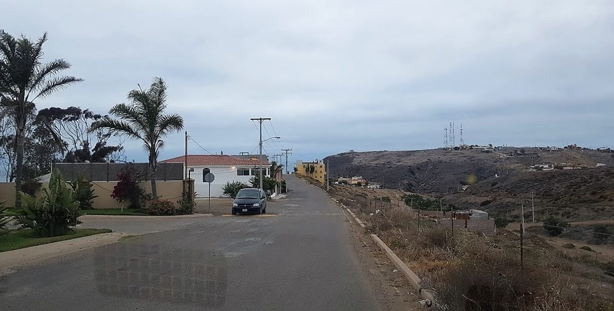 Calle pavimentada