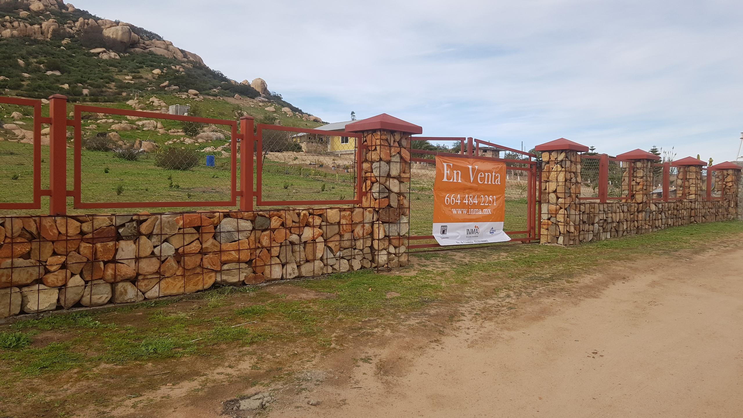Terreno en Venta en El Porvenir en Valle de Guadalupe; Ensenada, B.C.