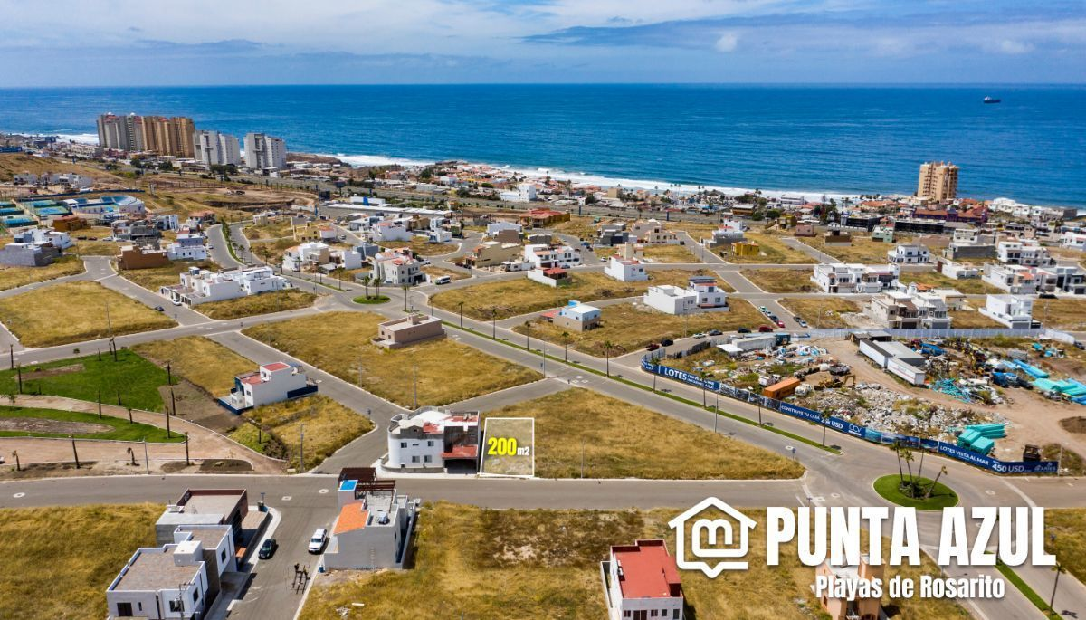 Terreno en Venta en Fraccionamiento Punta Azul; Playas de Rosarito, B.C.